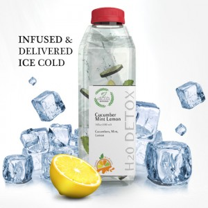 Cucumber Mint Lemon   Infused Water