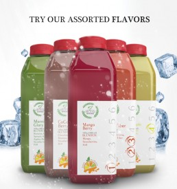 Assorted Organic Juices